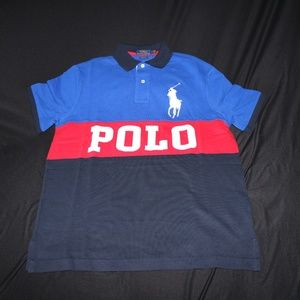 Polo Ralph Lauren Colorblock Big Pony Spell Out